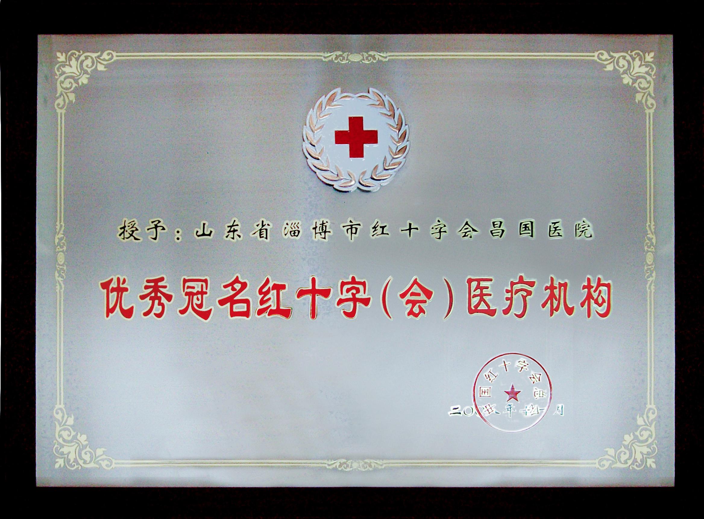 02 优秀冠名红十字(会)医疗机构2